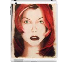 Milla - Red Hair iPad Case/Skin
