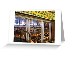 QUEEN MARY DINING! Greeting Card