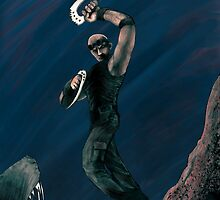 Riddick - leaping by OneDeadMan
