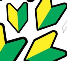 Jdm leaf Sticker