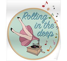 Rolling in the deep Poster