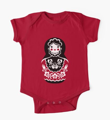 Matryoshka One Piece - Short Sleeve