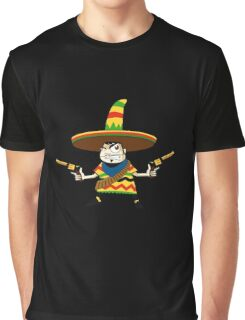Crazy Mexican Graphic T-Shirt