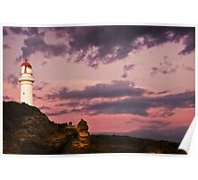 """Split Point"",Aireys Inlet,Great Ocean Road,Australia. Poster"