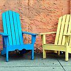 Sidewalk Chairs by Cynthia48