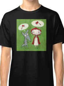 Red & Wolf Classic T-Shirt