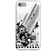 Abstract Techno  iPhone Case/Skin