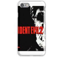 Resident Evil 2 Cover iPhone Case/Skin