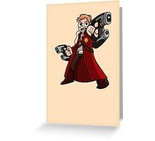 Star-Pilgrim Greeting Card