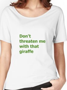 The Green Butcher's Quote Women's Relaxed Fit T-Shirt