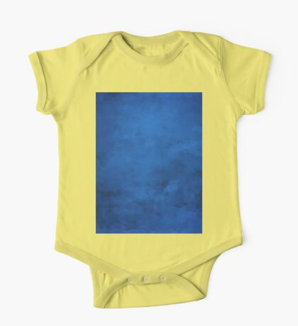 LowPoly Blue One Piece - Short Sleeve