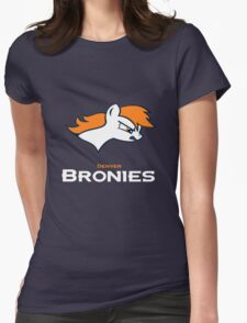 Denver Bronies Womens Fitted T-Shirt