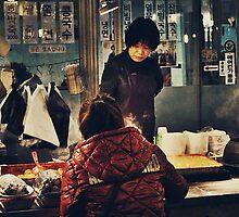 Market at Night by JulianVasil