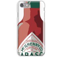 Hot sauce iPhone Case/Skin