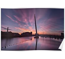 Early morning on the River Tawe Poster
