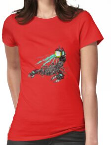 awesome laser scorpion Womens Fitted T-Shirt