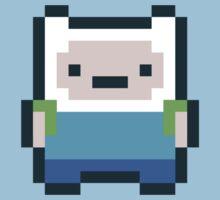 8-bit Finn by geraldbriones