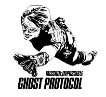Hand-drawing Mission Impossible  Photographic Print
