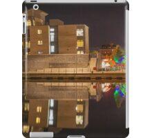 Night time at Swansea Marina iPad Case/Skin