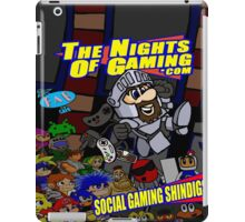 The Nights of gaming poster iPad Case/Skin