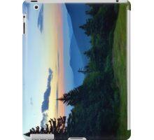 Killington VT sunset iPad Case/Skin