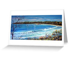 Ocean View, Australia  Greeting Card