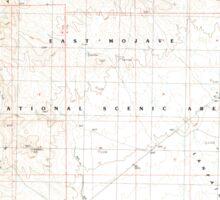 USGS TOPO Map California CA Castle Peaks 289037 1984 24000 geo Sticker