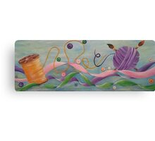 Unravel & Unwind Canvas Print