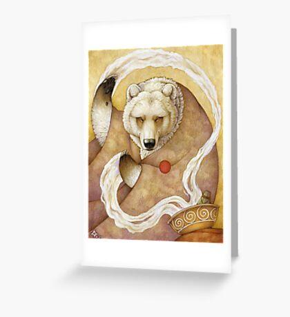 Healing Bear Greeting Card