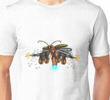 awesome rambo machine gun glowworm Unisex T-Shirt
