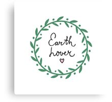 Earth and nature lover Canvas Print