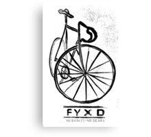 Fyxd invert Canvas Print