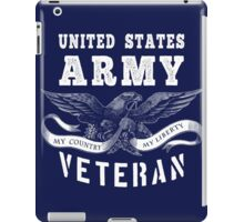 United States Army Veteran iPad Case/Skin