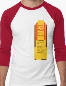 Film is not dead, smells funny Men's Baseball ¾ T-Shirt