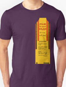 Film is not dead, smells funny T-Shirt
