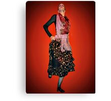 The Pride of Flamenco Canvas Print