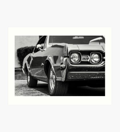 Oldsmobile Cutlass - TRA0077 Art Print