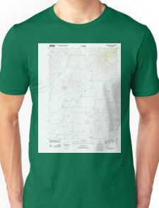 USGS TOPO Map California CA Bogus Mountain 20120208 TM geo Unisex T-Shirt
