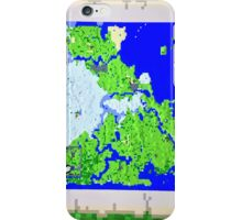 Mining Map Twin Size Duvet  iPhone Case/Skin