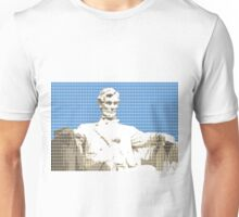 Lincoln memorial - Blue Unisex T-Shirt