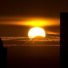 Partial solar eclipse by photogaet