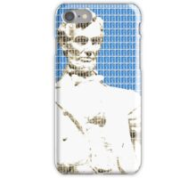 Lincoln memorial - Blue iPhone Case/Skin