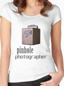Pinhole photographer Women's Fitted Scoop T-Shirt