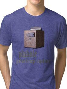 Pinhole photographer Tri-blend T-Shirt