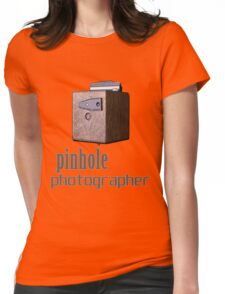 Pinhole photographer Womens Fitted T-Shirt