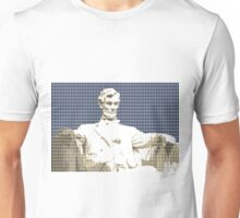Lincoln Memorial - Dark Blue Unisex T-Shirt