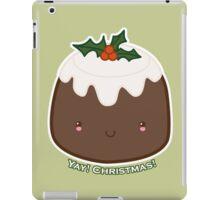 Cute Christmas Pudding iPad Case/Skin