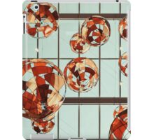 Colored Glass Balloons On Ceiling iPad Case/Skin
