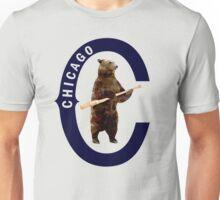 Bear with Bat - Polygonal T-Shirt