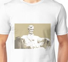 Lincoln memorial - Gold Unisex T-Shirt